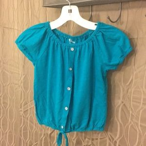 Other - Girls turquoise shirt